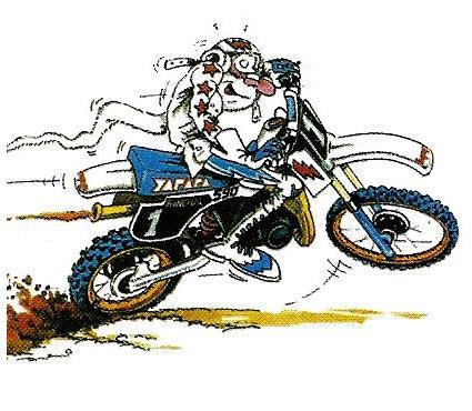 Moto cross national - Dessin humour moto ...